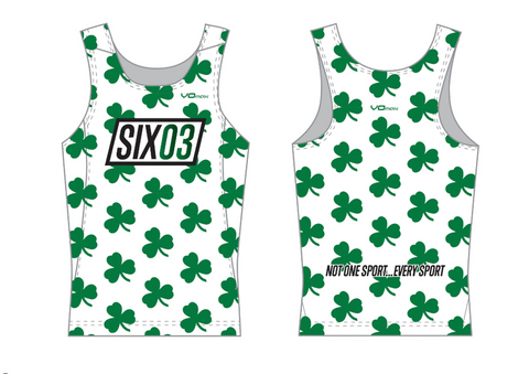 "SIX03 ""St Paddy's"" Running Singlet"