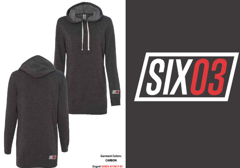 Women's SIX03 Special Blend Hooded Pullover Dress