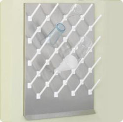 18Wx24H Stainless Steel Pegboards - Drying Racks - Blackland Manufacturing