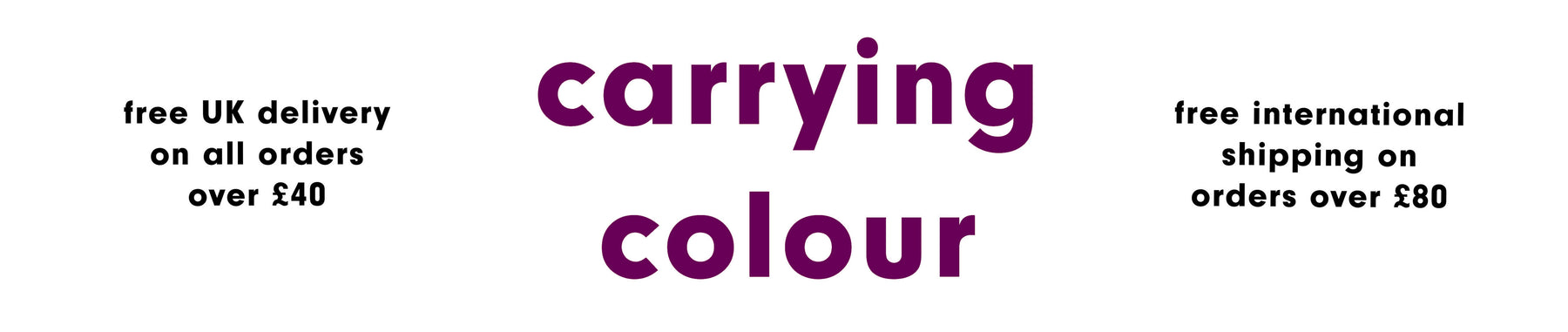 Carrying Colour