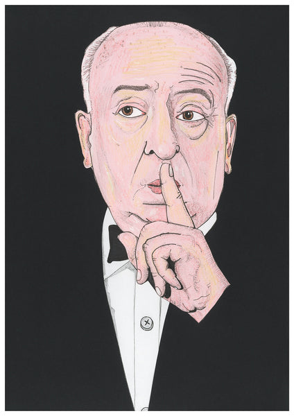 'Alfred Hitchcock' print