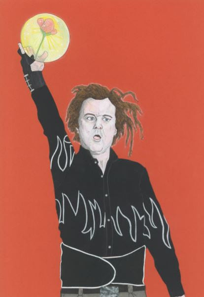 'Bill Murray in Kingpin' print