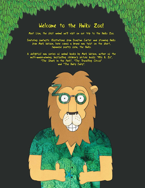 'The Haiku Zoo' back cover illustration