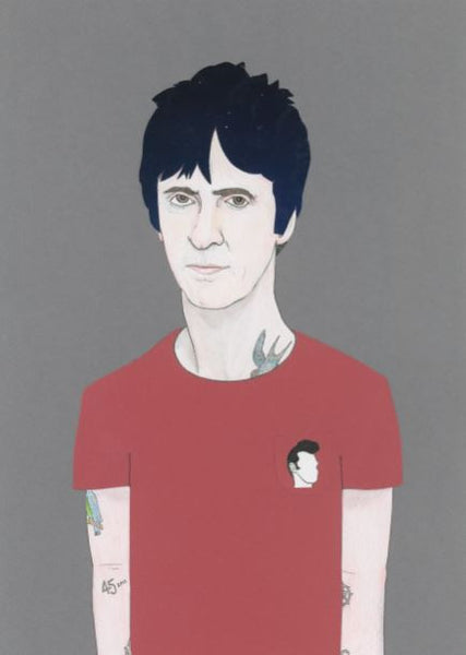 'Johnny Marr' print