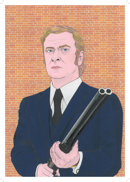 'Michael Caine in Get Carter' print