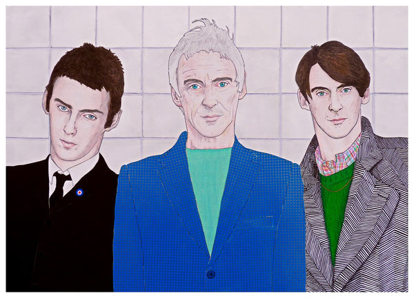 'Paul Weller Triptych' print