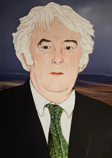 'Seamus Heaney' portrait