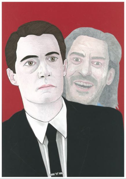 'Twin Peaks returns' print