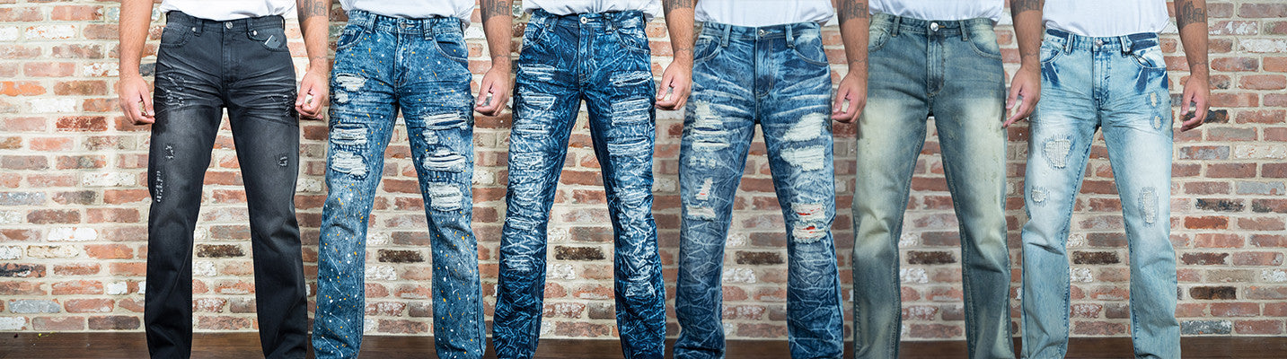 Shop Affordable Stylish Men's Denim from Brooklyn Xpress