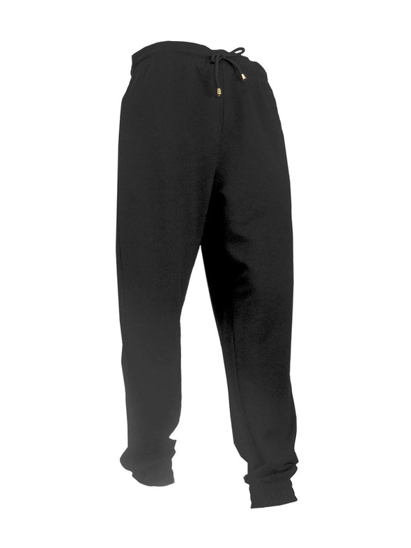 Black Thermal Fleece Jogger - Brooklyn Xpress