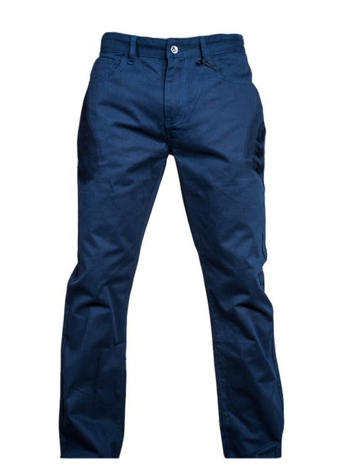 Indigo Five Pocket Twill Pant - Brooklyn Xpress