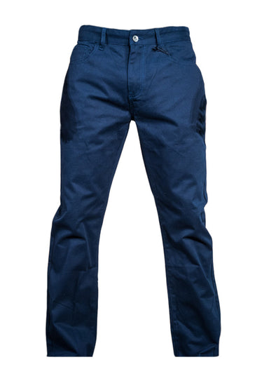 Navy Stretch Straight Leg Pant - Brooklyn Xpress