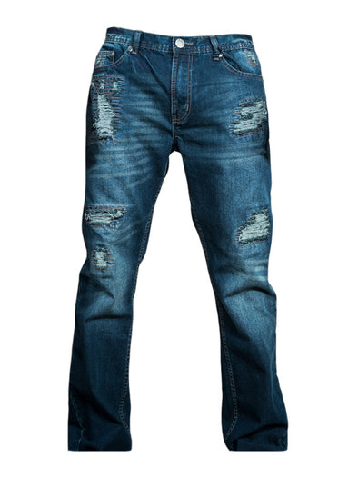 Dark Tinted Five Pocket Jeans - Brooklyn Xpress