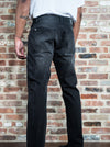 Black Five Pocket Torn Jeans - Brooklyn Xpress
