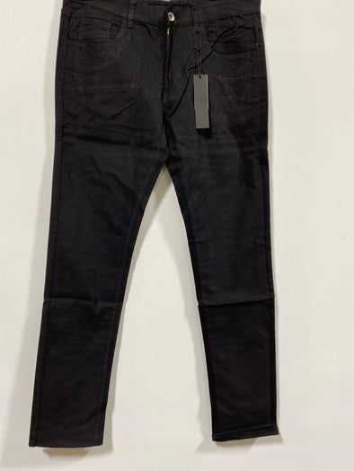 Black Stretch Straight Leg Pant