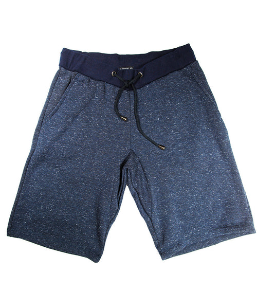 Heather Blue Fleece Short