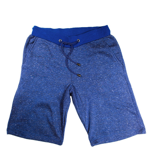 Royal Blue Heather Fleece Short