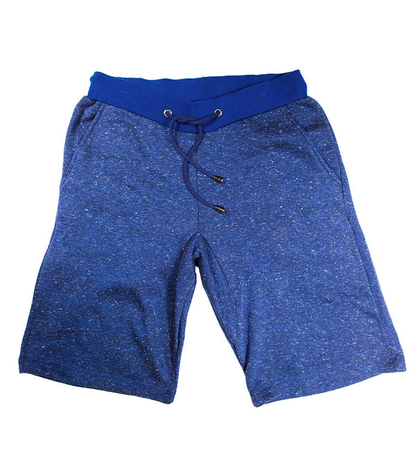 Royal Blue Heather Fleece Short - Brooklyn Xpress