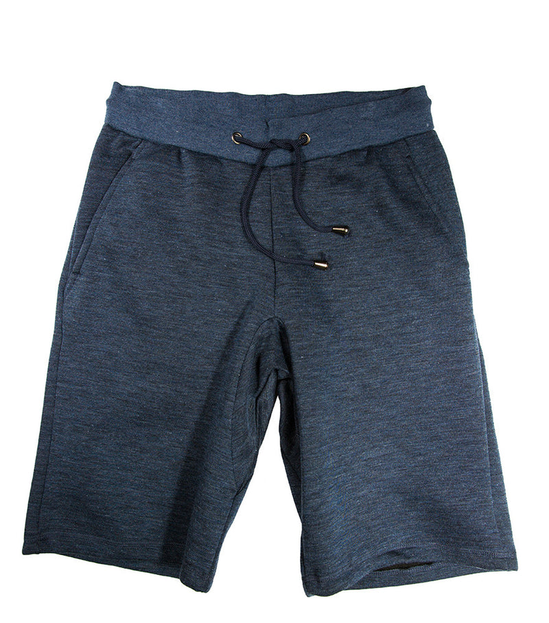 Dark Heather Grey Fleece Short