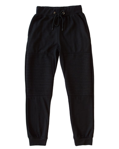 Black Moto Men's Joggers