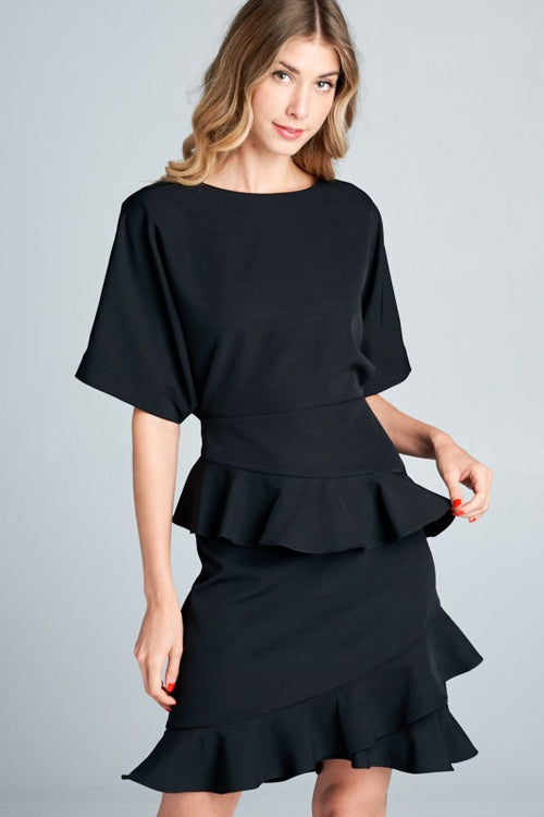 PRE ORDER! Lawther Black Dress *Ships End of September
