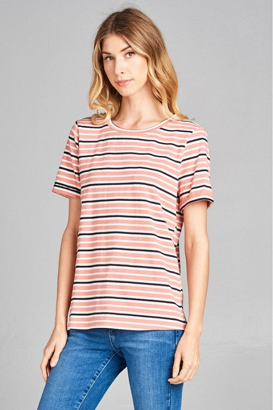 Taylor Striped Tee
