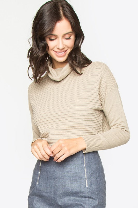 """London"" Ribbed Knit Top"