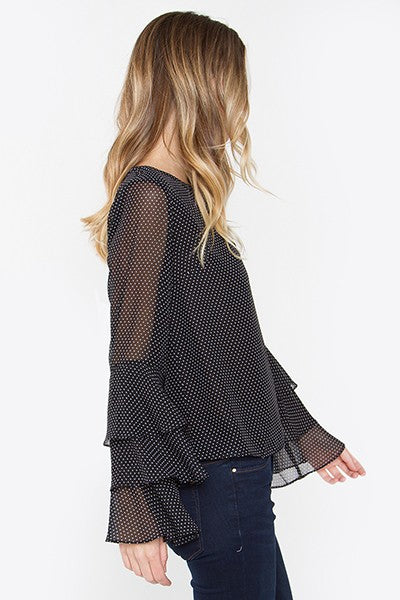 Holland Polka Dot Top