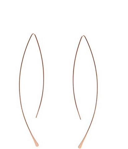 Star Semi Hoop Earrings