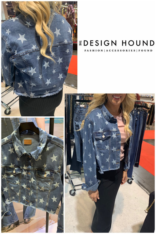Ezra Star Designed Denim Jacket