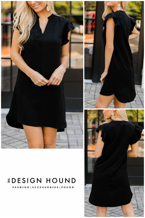 Brentwood Black Dress by THML Brand