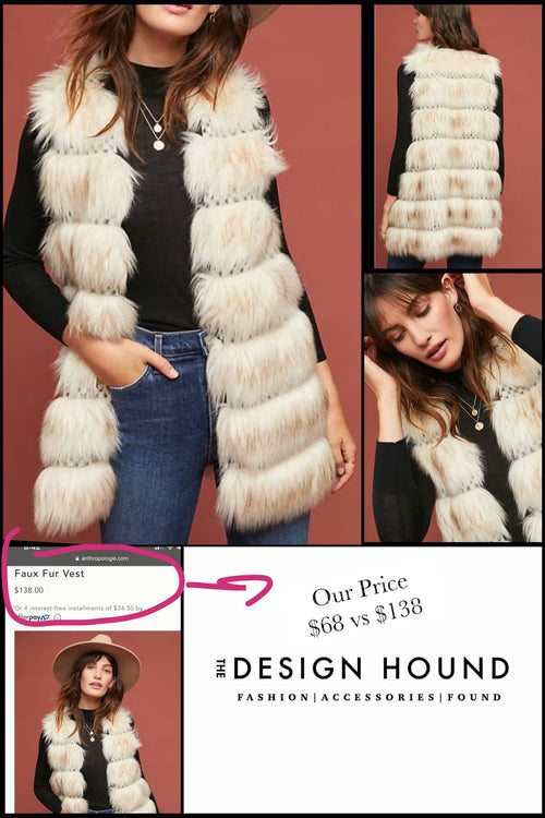 Nolan Sleeveless Fur Vest