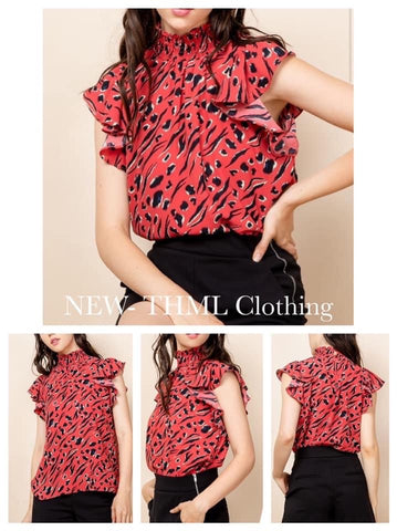 Ryland Print top by THML Clothing