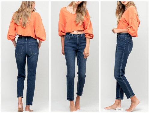 """Mom"" On Trend Jeans"