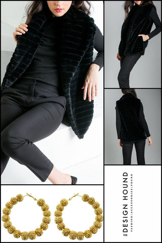 Hunter by THML Ruffled Sleeve Open Cardigan