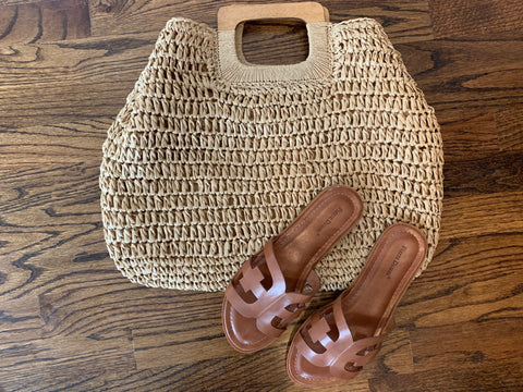 Oxford Nude colored Handbag