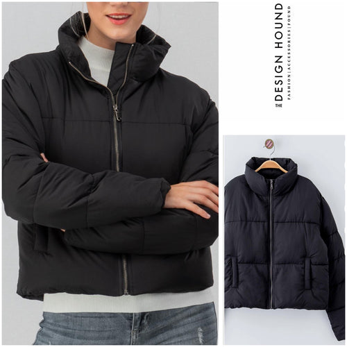 Lindley Black Puffer Jacket