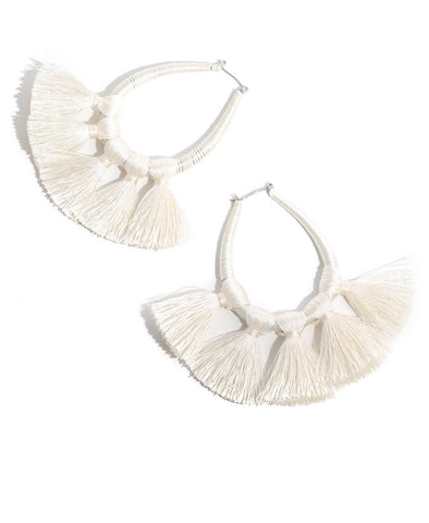 Raffia Drop Earrings