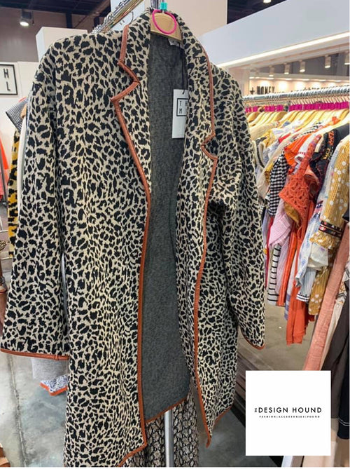 Jacksonville Leopard Cardigan by THML Brand
