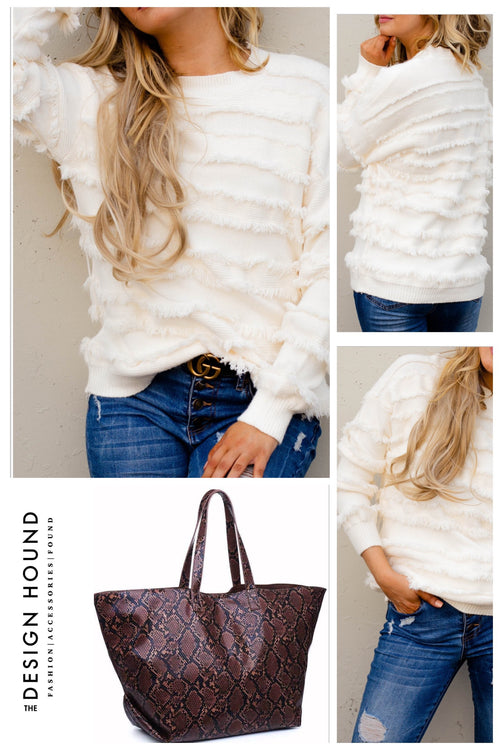 Mason Fringe Sweater