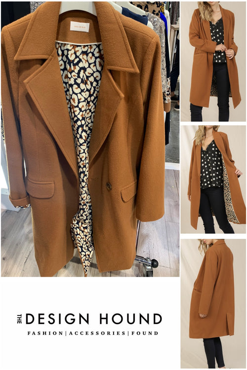 Gaston Camel Wool Coat