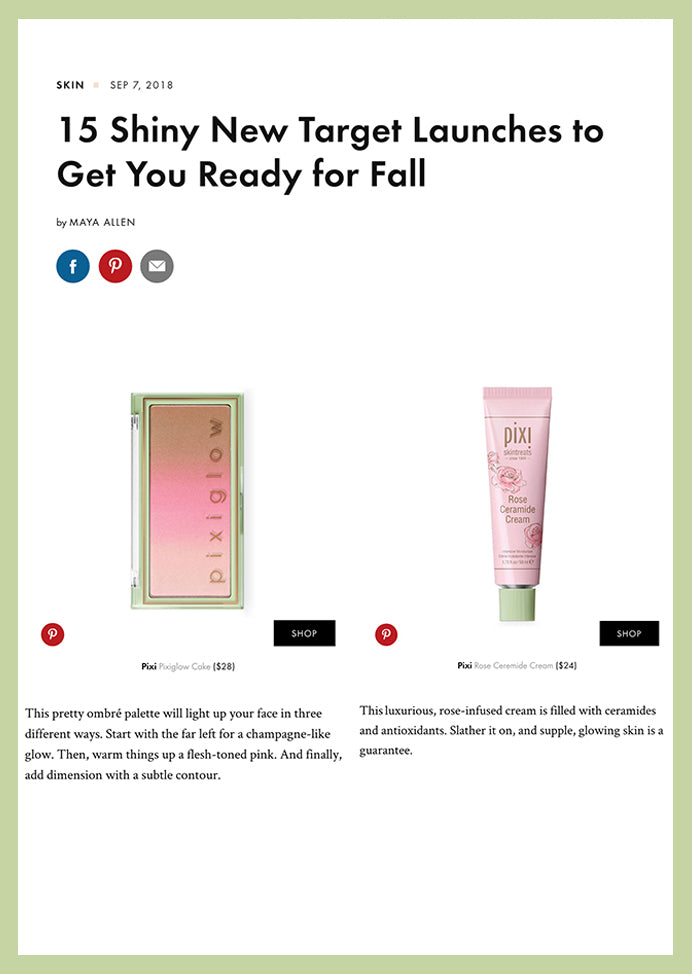 Byrdie 15 Shiny New Target Launches to Get You Ready for Fall