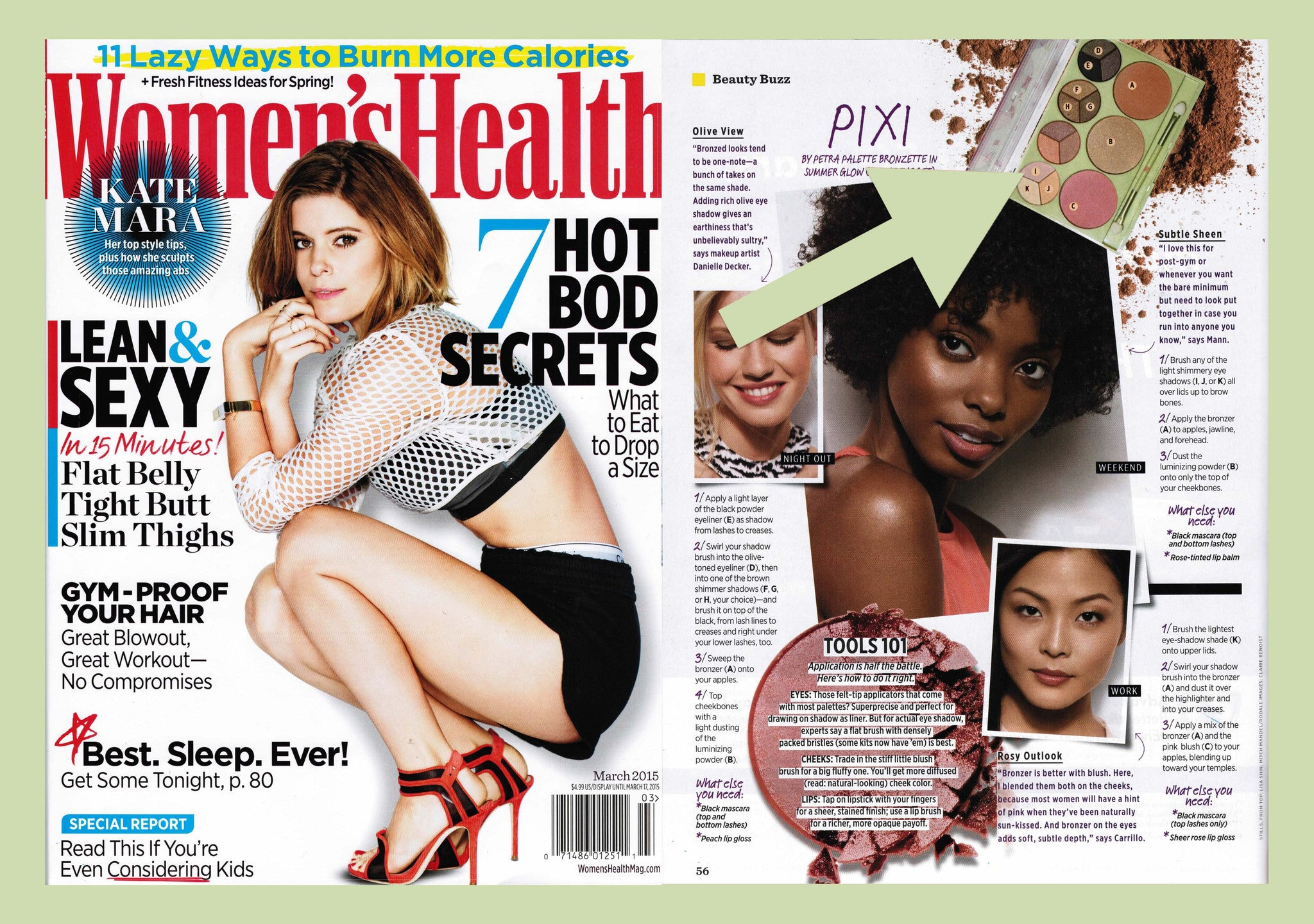 Women's Health March 2015