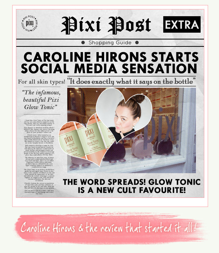 Caroline Hiron loves Glow Tonic