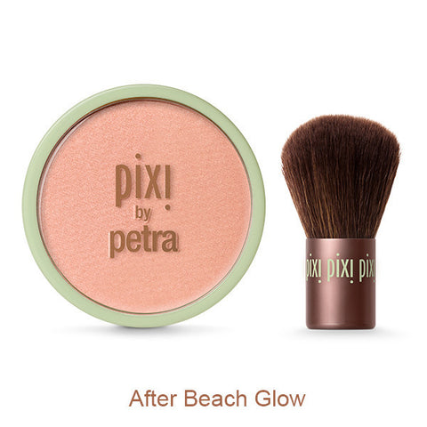 Beauty Bronzer & Kabuki in After Beach Glow