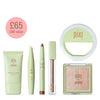 Best of Pixi Colour Bundle features 5 best-selling makeup items and a portable selfie light. Save £33 and treat yourself to Flawless & Poreless, Large Lash Mascara in Bold Black, Endless Shade Stick in BronzeBlaze, Lip Icing in Toffee, Glow-y Gossamer Duo in Delicate Dew and our Pixi Selfie Ring Light.