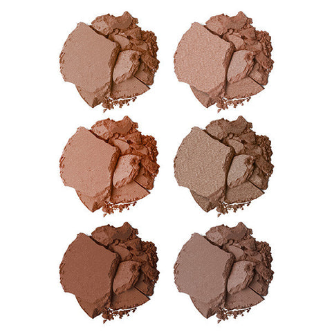 Book of Beauty-Bronze Textures Bronzing Palette Swatches