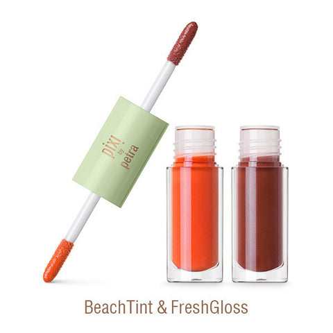 GelTint & SilkGloss in BeachTint & FreshGloss