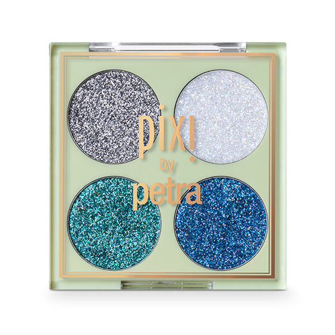 Glitter-y Eye Quad in BluePearl
