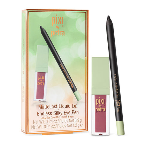 MatteLast Liquid Lip & Endless Silky Eye Pen